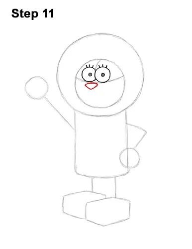 Spongebob Line Drawing : spongebob, drawing, Sandy, Cheeks, (SpongeBob, SquarePants)