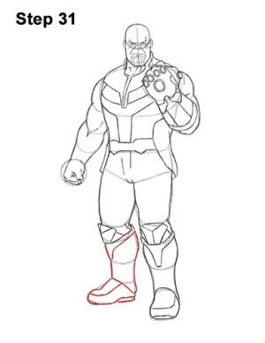 marvel draw characters slidesharedocs avengers thanos comics