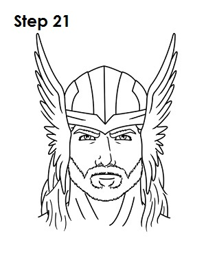 Thor Drawing Easy : drawing