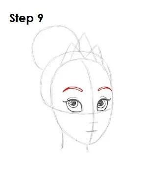 Princess Tiana Drawing : princess, tiana, drawing, Princess, Tiana