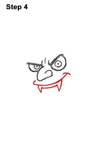 Simple Vampire Drawing : simple, vampire, drawing, Vampire, (Dracula)