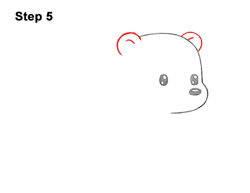 How To Draw A Polar Bear Cartoon Video Step By Step Pictures