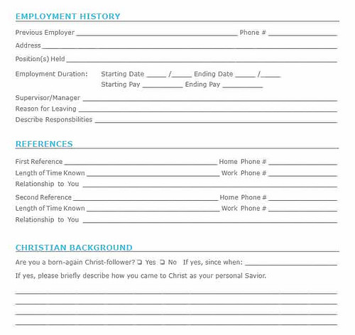 Job Application In Kansas