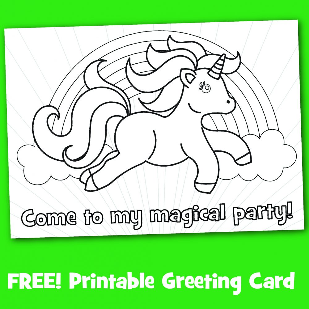 white magical party invitations