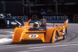 1971 McLaren M8F Can-Am car in a support race