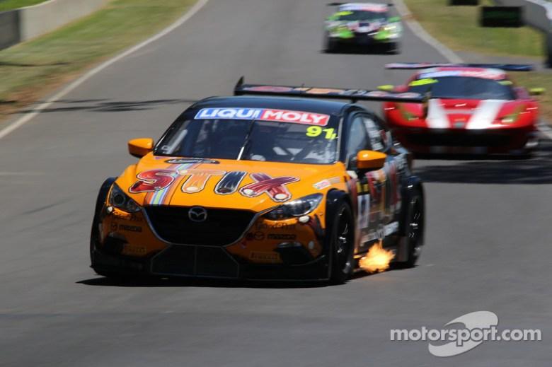 #91 MARC Cars Australia Mazda 3 V8: Keith Kassulke, Jake Camalleri, Ivo Breukers at Bathurst 12 Hour
