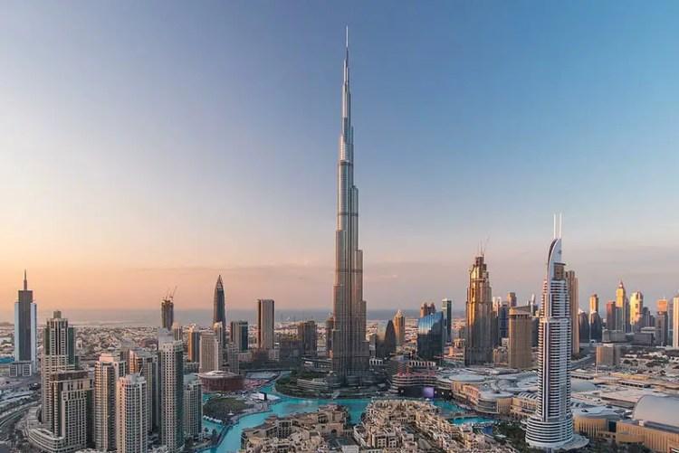 Burj khalifa, the top 10 tallest buildings in the world