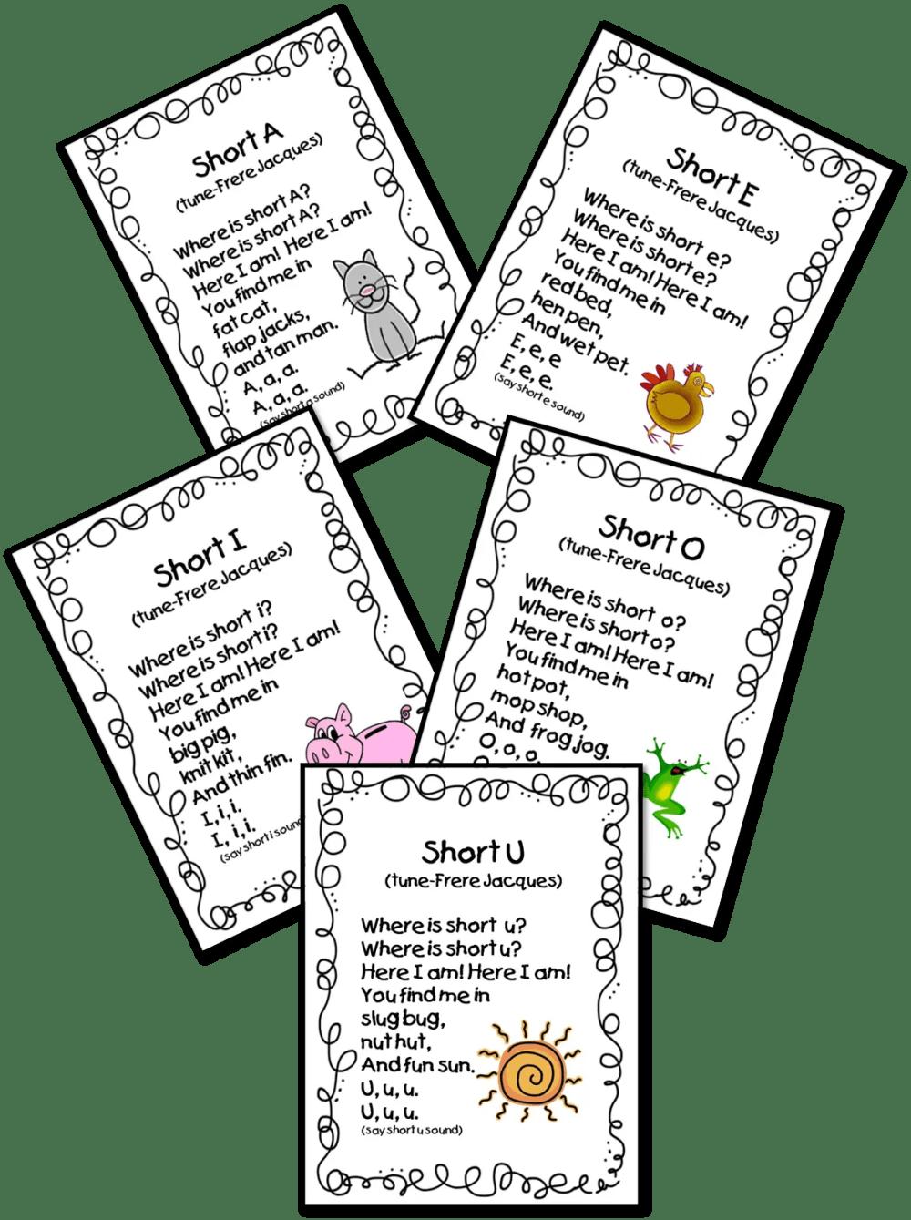 medium resolution of Vowel Poems