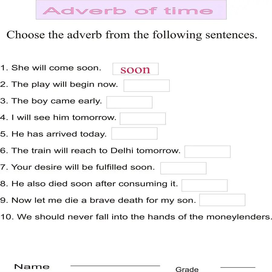 medium resolution of Adverb Poems