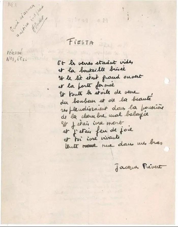 Poeme Sur La Mort Prevert : poeme, prevert, Jacques, Prevert, Poems