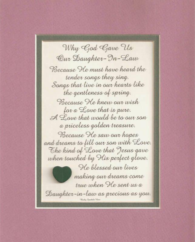 Future Daughter In Law Poems : future, daughter, poems, Future, Daughter, Poems