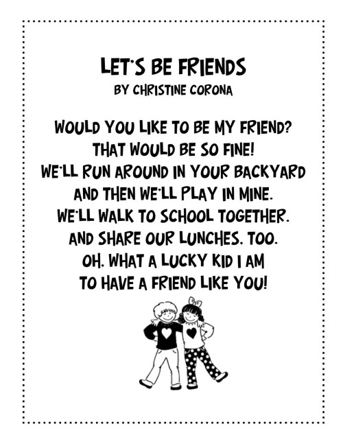 small resolution of 2nd grade Poems