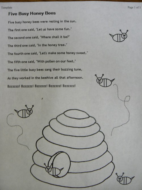 small resolution of Bee Poems