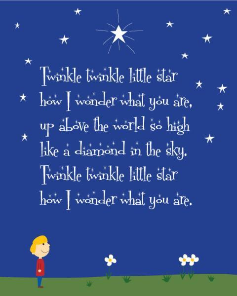 Lirik Twinkle : lirik, twinkle, Twinkle, Poems