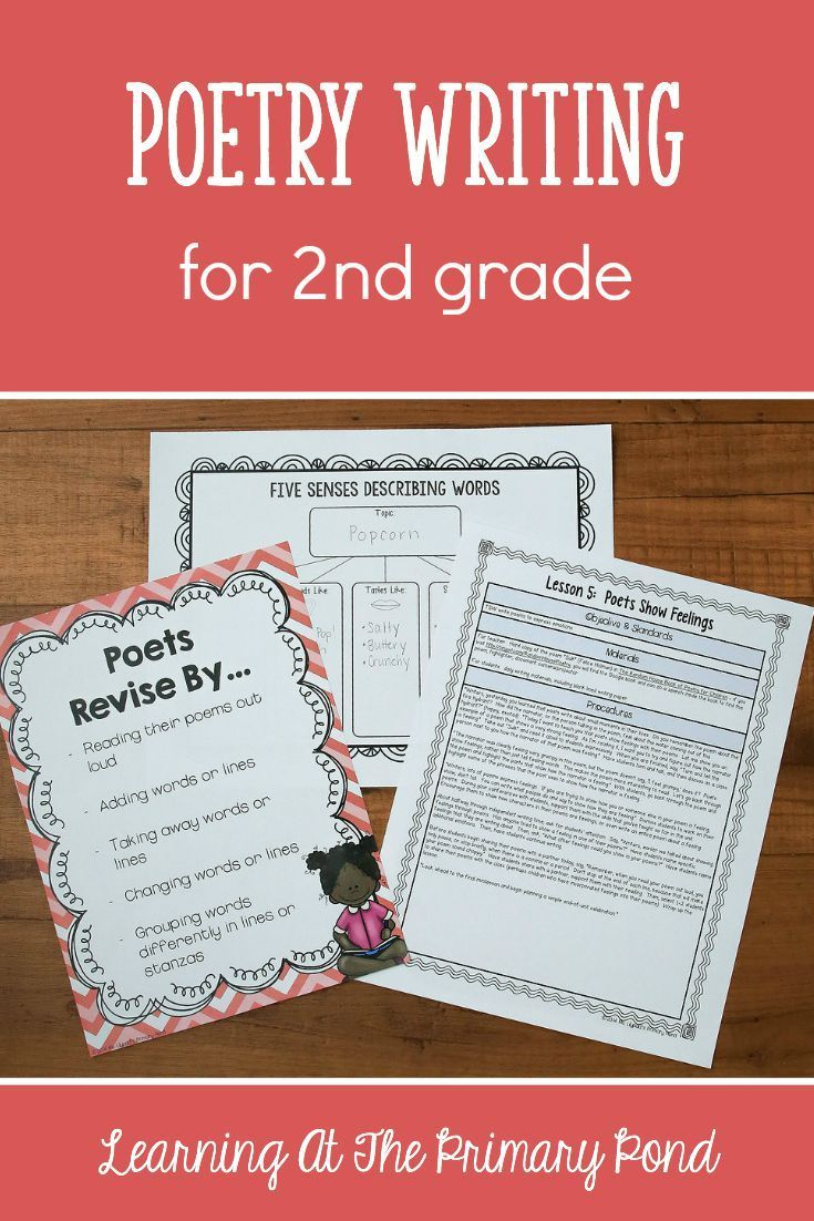 hight resolution of Second grade Poems
