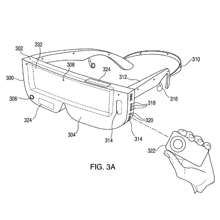 Apple Patents Head-Mounted Display for Smartphones