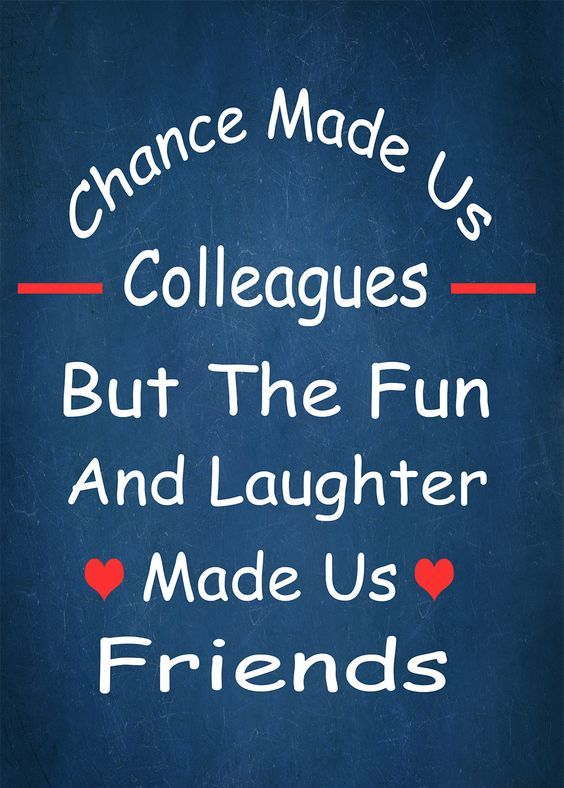 Friendship Quotes for Co-Workers | Sample Messages