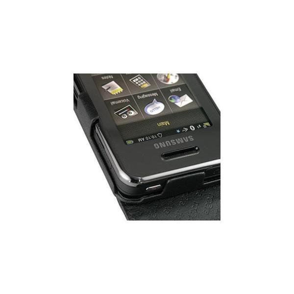Leather Case Samsung Instinct M800