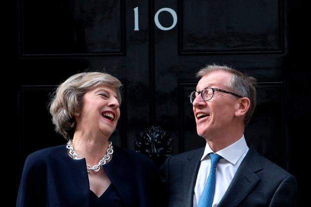 Theresa Mays husband is a senior executive at a 14 trillion investment fund that profits from