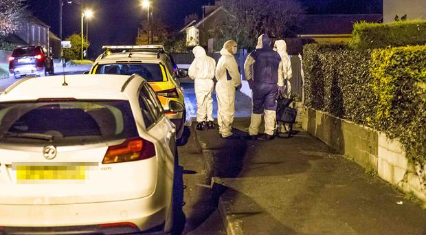 08/11/19 The police are holding the scene of an incident at Rockfield Gardens in Mosside County Antrim. Photo Steven McAuley / McAuley Multimedia
