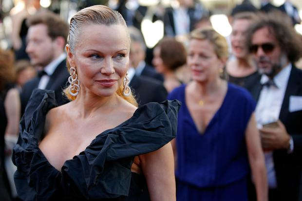 Image result for Pamela Anderson Looks Unrecognisable At Cannes