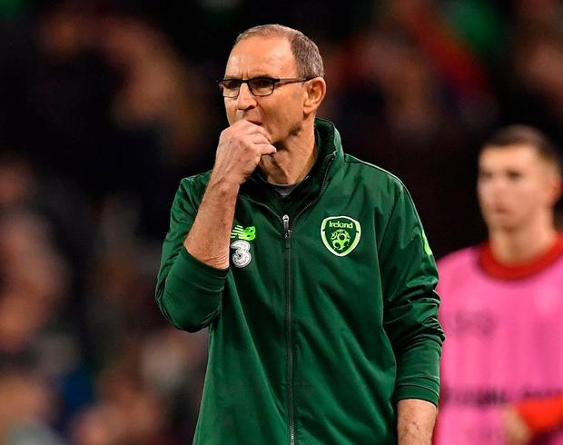 Coach of the Republic of Ireland, Martin O & Neill. Photo: Brendan Moran / sports file