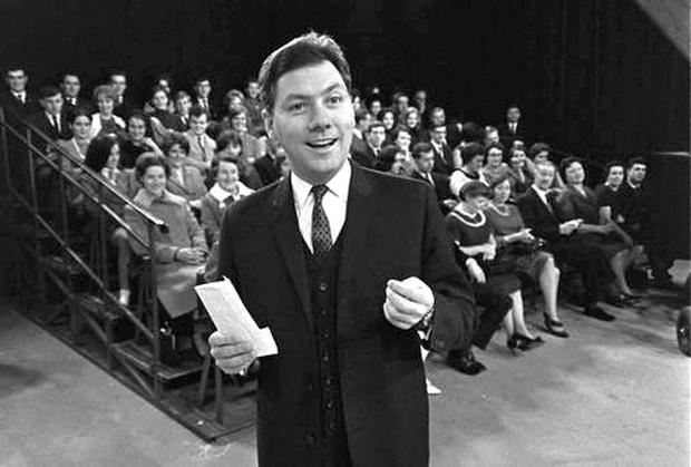 Gay Byrne on the Late Late Show in 1966