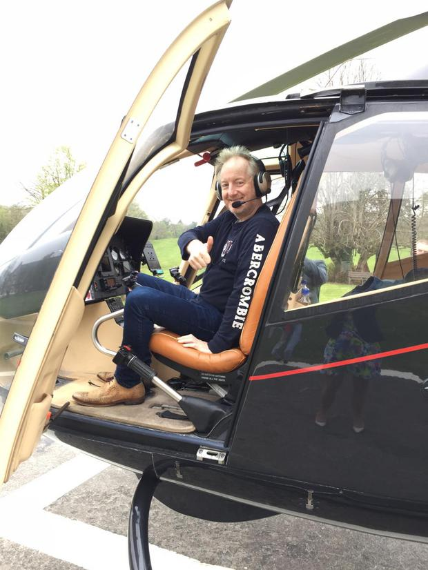Barry takes off at Breaffy House
