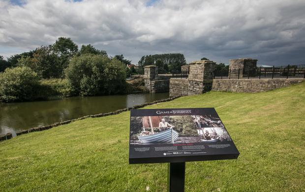 Toome Canal, a location for the Old Valyrian Canal in Game of Thrones. Photo: DiscoverNorthernIreland.com
