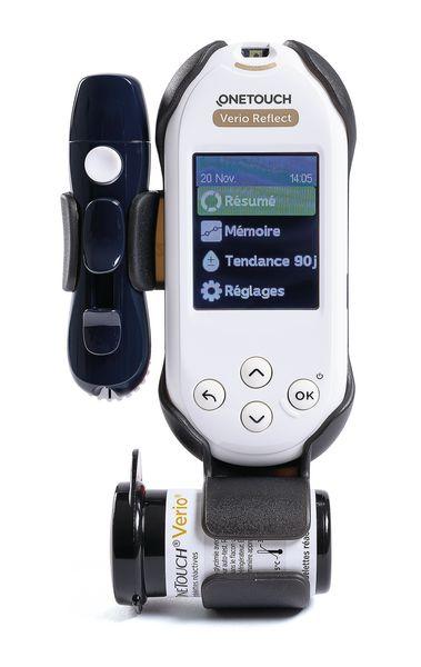 Lecteur de glycémie One Touch Verio Reflect® bluetooth   Securimed