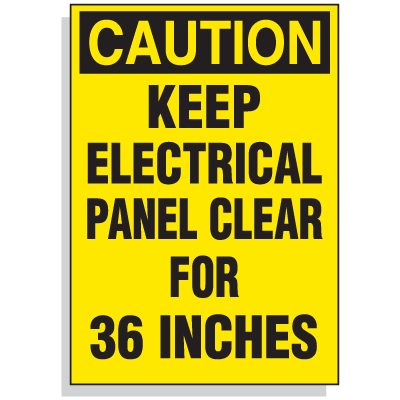 electrical panel hazards 1996 ford explorer wiring diagram lockout hazard warning labels keep clear for 36 photo gallery caution