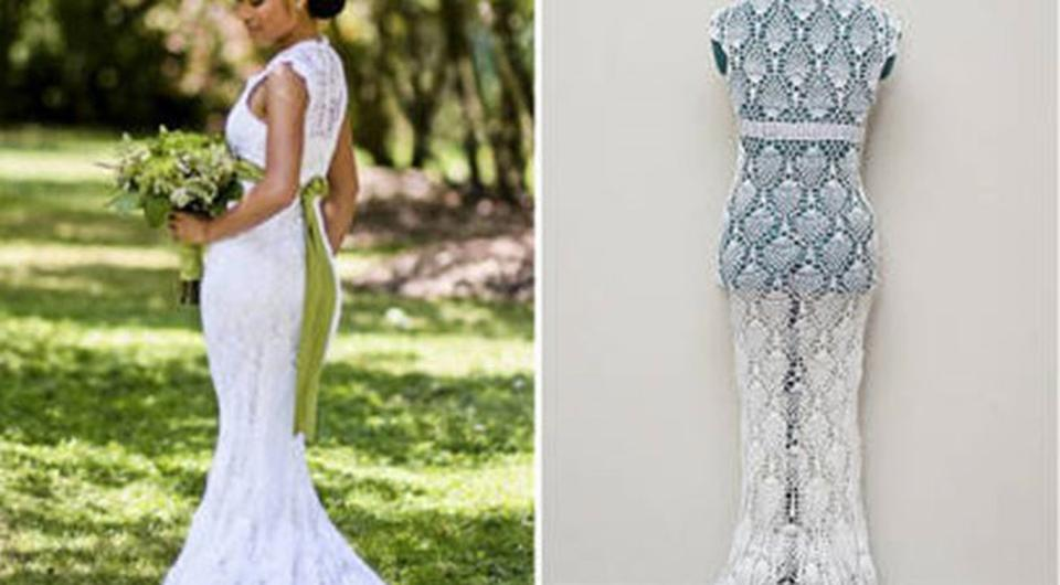 Homemade Haute Couture: Woman Makes Wedding Dress For €25