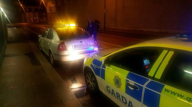 The Bogus Cab Was Pulled Over By Members Of The Dublin Metropolitan Region Dmr