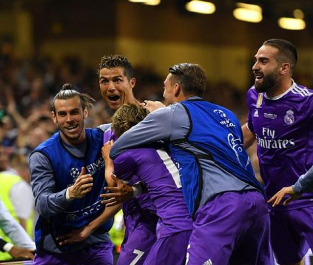 As It Happened Juventus V Real Madrid Real Rout Juventus To Secure Th Champions League Title
