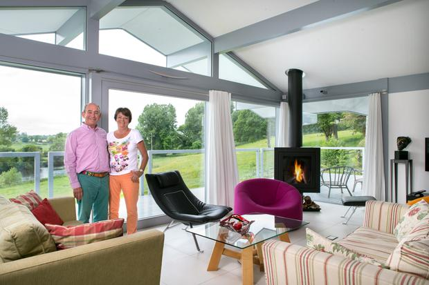 white living room furniture ireland designs with wooden floors the irish couple who hired star of grand to renovate their stan and ursula in area on upper floor where