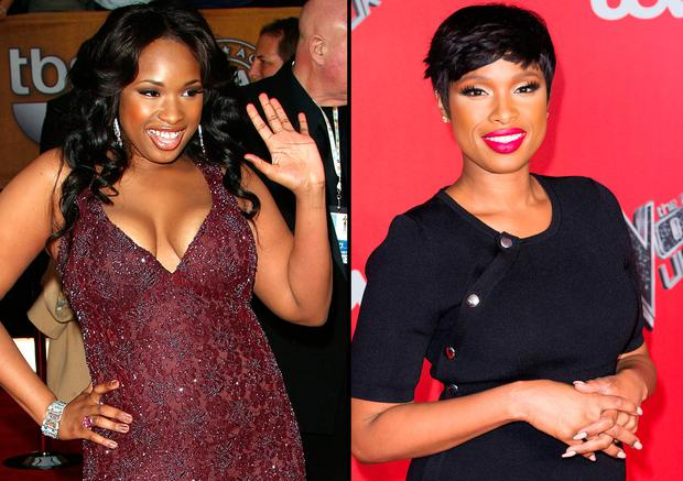 Jennifer Hudson In 2007 Left And In 2017 Right