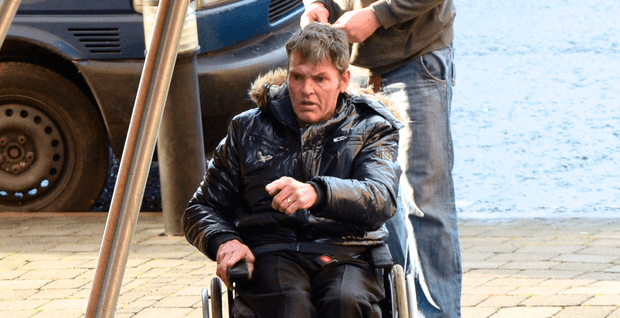 wheelchair man double bass chair assaulted teen who helped him independent ie james callaghan lied about sexual assault judge ruled