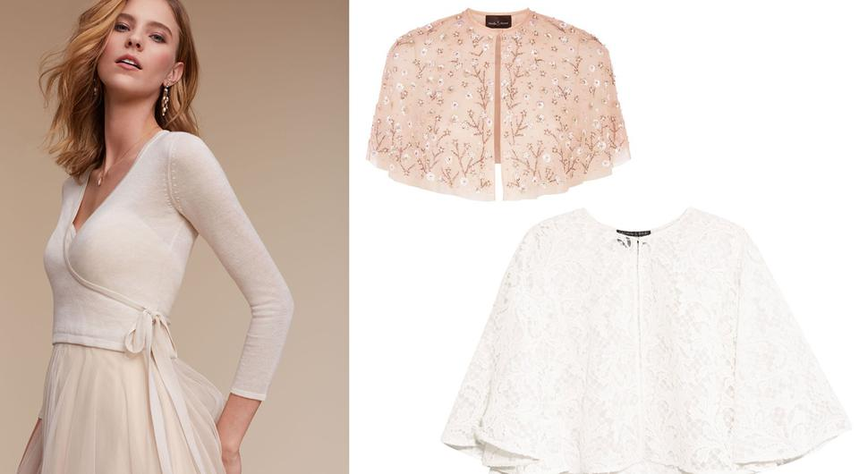 Bridal Fashion: Chic Cover-ups To Keep You Warm On Your