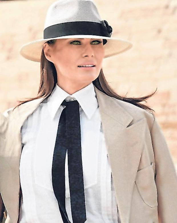Melania Trump's new initiative aims to tackle online bullying. Photo: Nariman El-Mofty