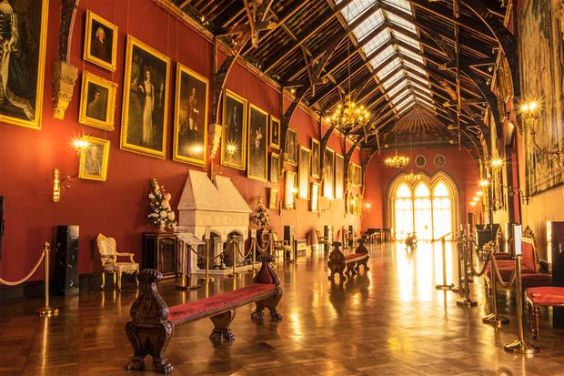 The picture gallery at Kilkenny Castle