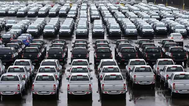 Annual new car sales have reached an all-time high for a second consecutive year