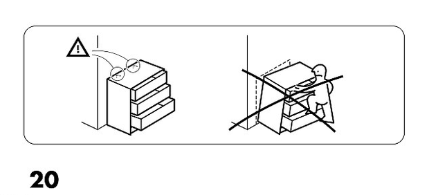 Ikea safety warning over 'Malm' dressers after two