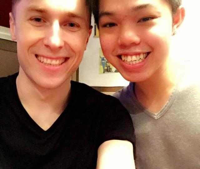 Ian Begley 24 And His Boyfriend Eric Wan Picture Facebook