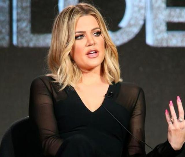 Khloe Kardashian Executive Producer Speaks Onstage During Fyi Kocktails With Khloe Panel As