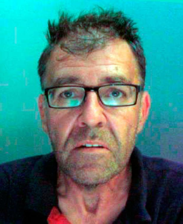 Christopher Rigg (52) of no fixed address, who was jailed for 10 years and nine months at Liverpool Crown Court for drugs offences. PA Wire