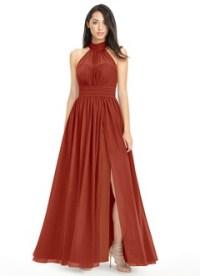 Rust Bridesmaid Dresses & Rust Gowns | Azazie