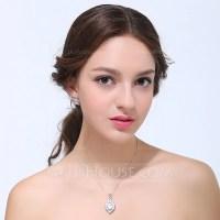 Beautiful Zircon With Cubic Zirconia Ladies' Jewelry Sets ...