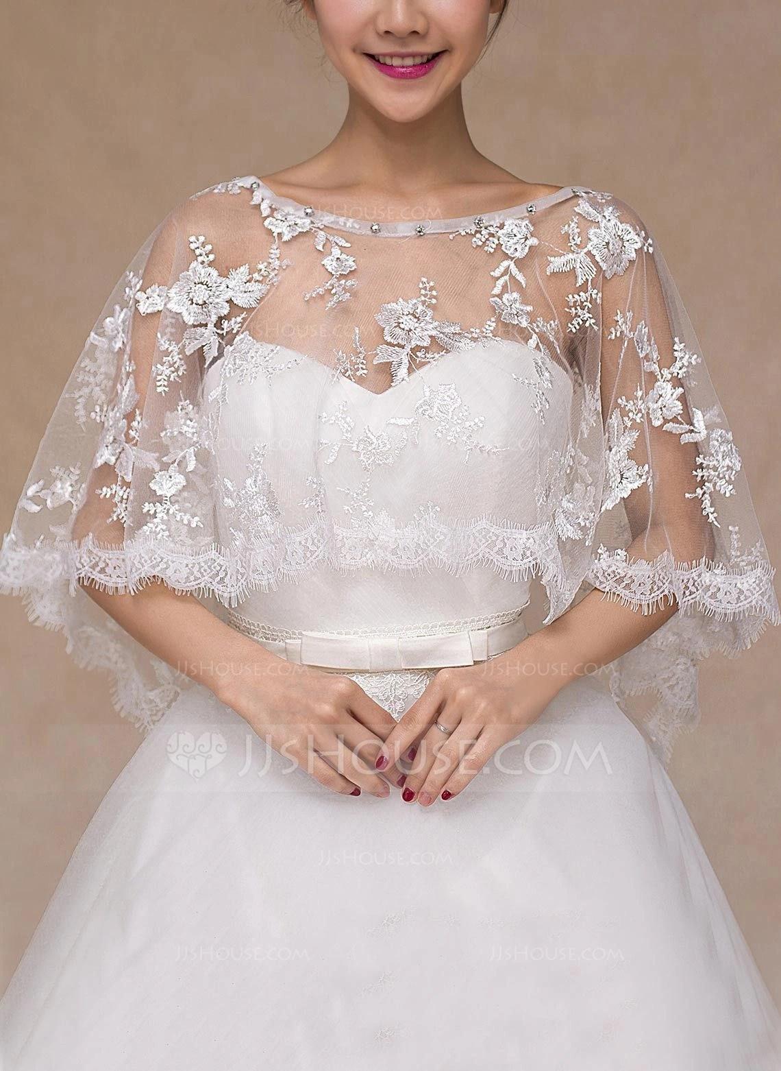 Lace Wedding Wrap 013101809 Wraps JJs House