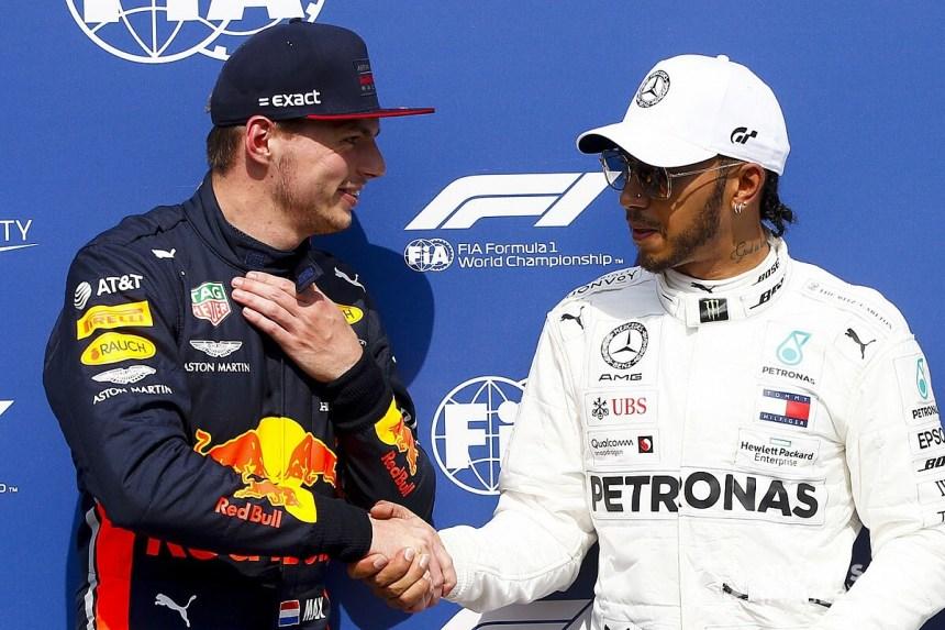 F1: Contra fake news, Hamilton e Verstappen selam acordo de paz
