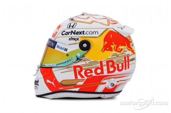 Nuevo casco de Max Verstappen 2020